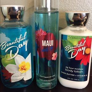 BBW Beautiful Day/Maui Set